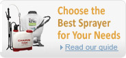 Choose the best garden sprayer for your needs