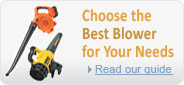 Choose the best leaf blower for your needs