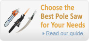 Choose the best pole saw for your needs