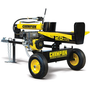 product image of Champion 25-Ton Horizontal/Vertical Full Beam Gas Log Splitter