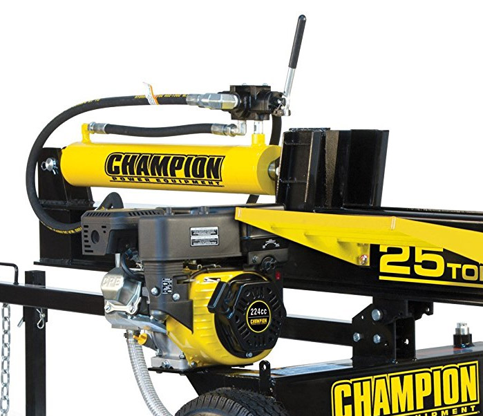 Champion 25-Ton Log Splitter (+Review and Video) | HiveFly