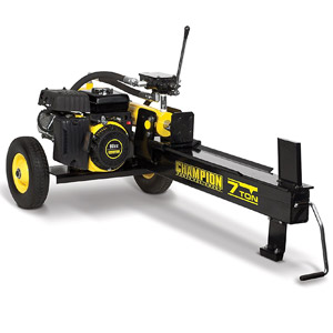 product image of Champion 7-Ton Compact Horizontal Gas Log Splitter with Auto Return