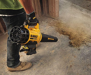 getting rid of dust and dirt on a work site