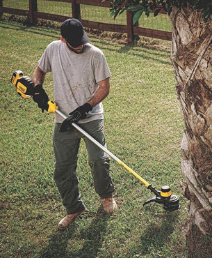 maintaining your lawn with the help of the DCST920P1