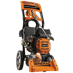 product image of Generac 6596 2,800 PSI 2.5 GPM 196cc OHV Gas Powered Residential Pressure Washer