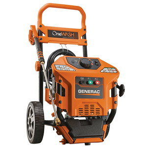 product image of Generac 6602 OneWash 4-In-1 PowerDial 3,100 PSI 2.8 GPM 212cc OHV Gas Powered Residential Pressure Washer