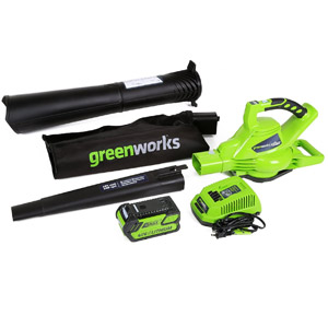 product image of GreenWorks 24322 DigiPro G-MAX 40V Cordless 185MPH Blower/Vac