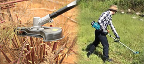 weed eater uses - heavy duty jobs