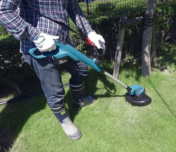 maintaining your garden using the XRU02Z