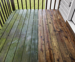 a deck before and after