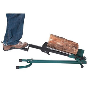 product image of Quality Craft Foot-Operated Log Splitter, Model# LSF-001