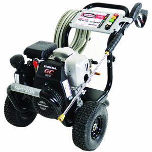 product image of Simpson MSH3125-S MegaShot 3100 PSI 2.5 GPM Honda GCV190 Engine Gas Pressure Washer