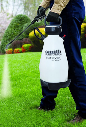 using the Smith Contractor in a garden