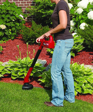 ideal for cleanup and cosmetic treatment of your garden