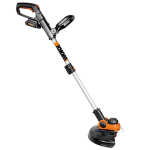 "product image of WORX WG163 GT 3.0 20V Cordless Grass Trimmer/Edger with Command Feed, 12"", 2 Batteries and Charger Included"